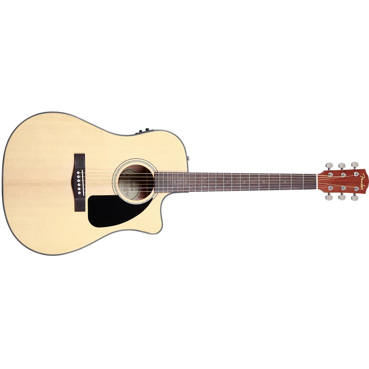 กีต้าร์โปร่ง Fender Acoustic CD-60CE with Hard Case ( Fishman )