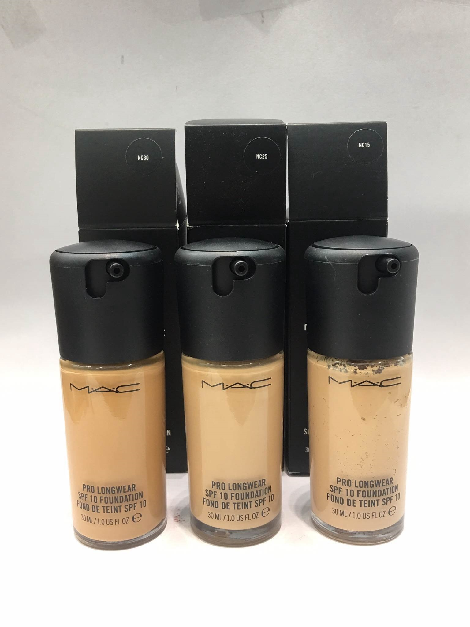#MAC Pro Longwear SPF10 Foundation ขนาด 30 ml.