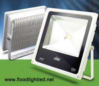 LED Flood Light Slim 10w BIOBULB สีขาว (แสงส้ม)