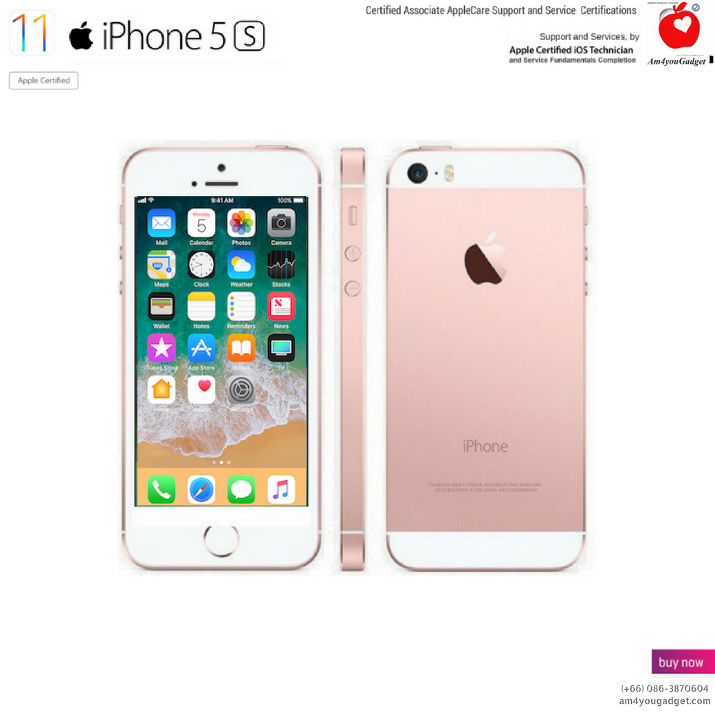 iPhone5s 16GB - Rose Gold Edition