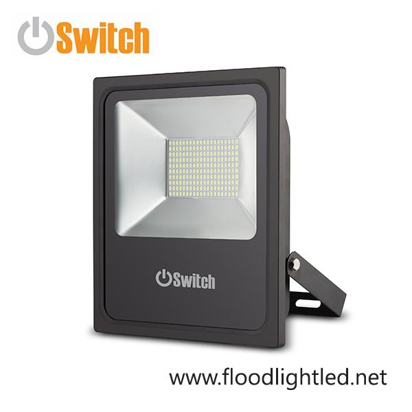 สปอร์ตไลท์ LED 100w รุ่น SMD ECO ยี่ห้อ Switch (แสงขาว)