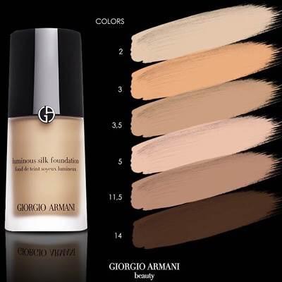 #Giorgio Armani Luminous Silk Foundation 30ml.