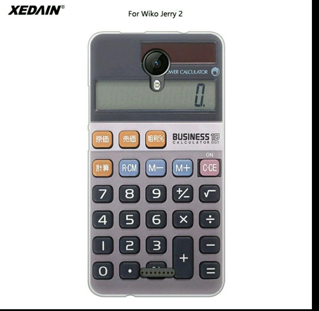 เคส wiko jerry2 แฟชั่นลายเครื่องคิดเลข