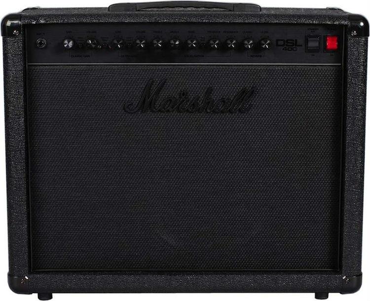 Marshall DSL40C Limited Pitch Black