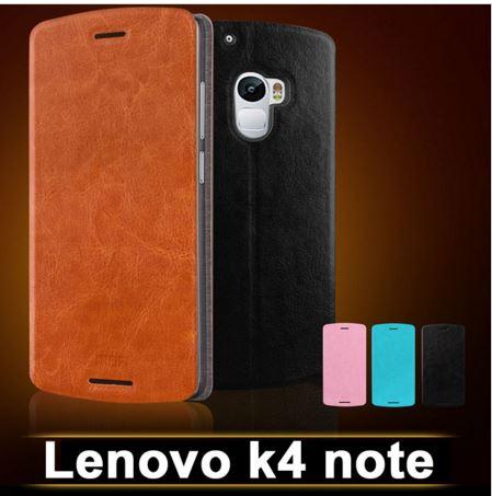 เคส lenovo k4 note (A7010) เคสพับหนังคุณภาพสูง