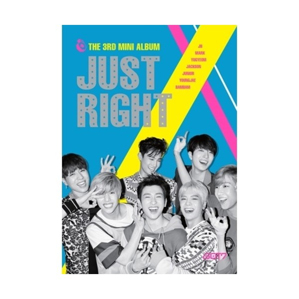 {Got7} mini 3rd Album [ JUST RIGHT ] CD+Poster