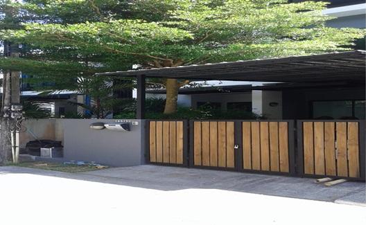 บ้าน เช่า 2ห้องนอน สไตล์โมเดริน์ 2 ชั้น พร้อมระบบกันขโมย สามกอง ในเมือง ภูเก็ต