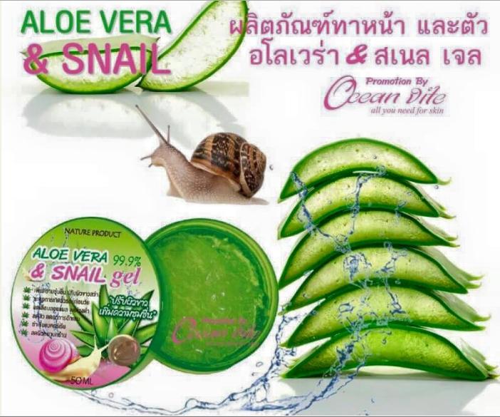 Aloe Vera 99.99 snail gel 50 ml