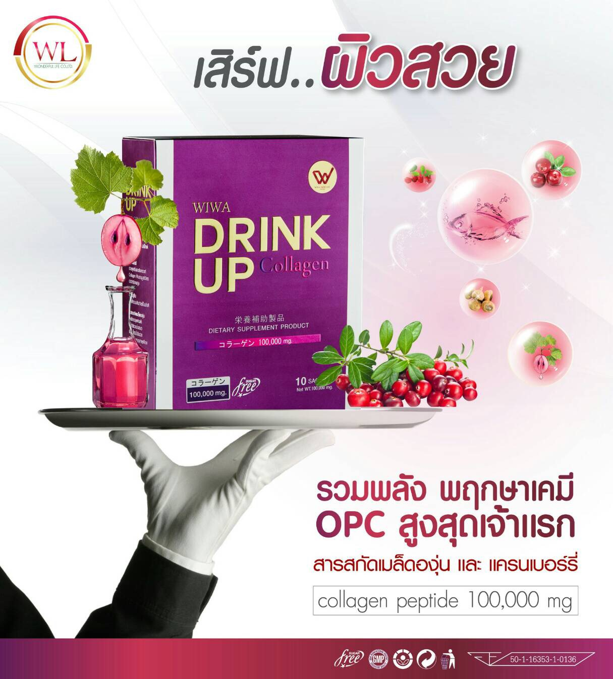 Wiwa Collagen Drink Up