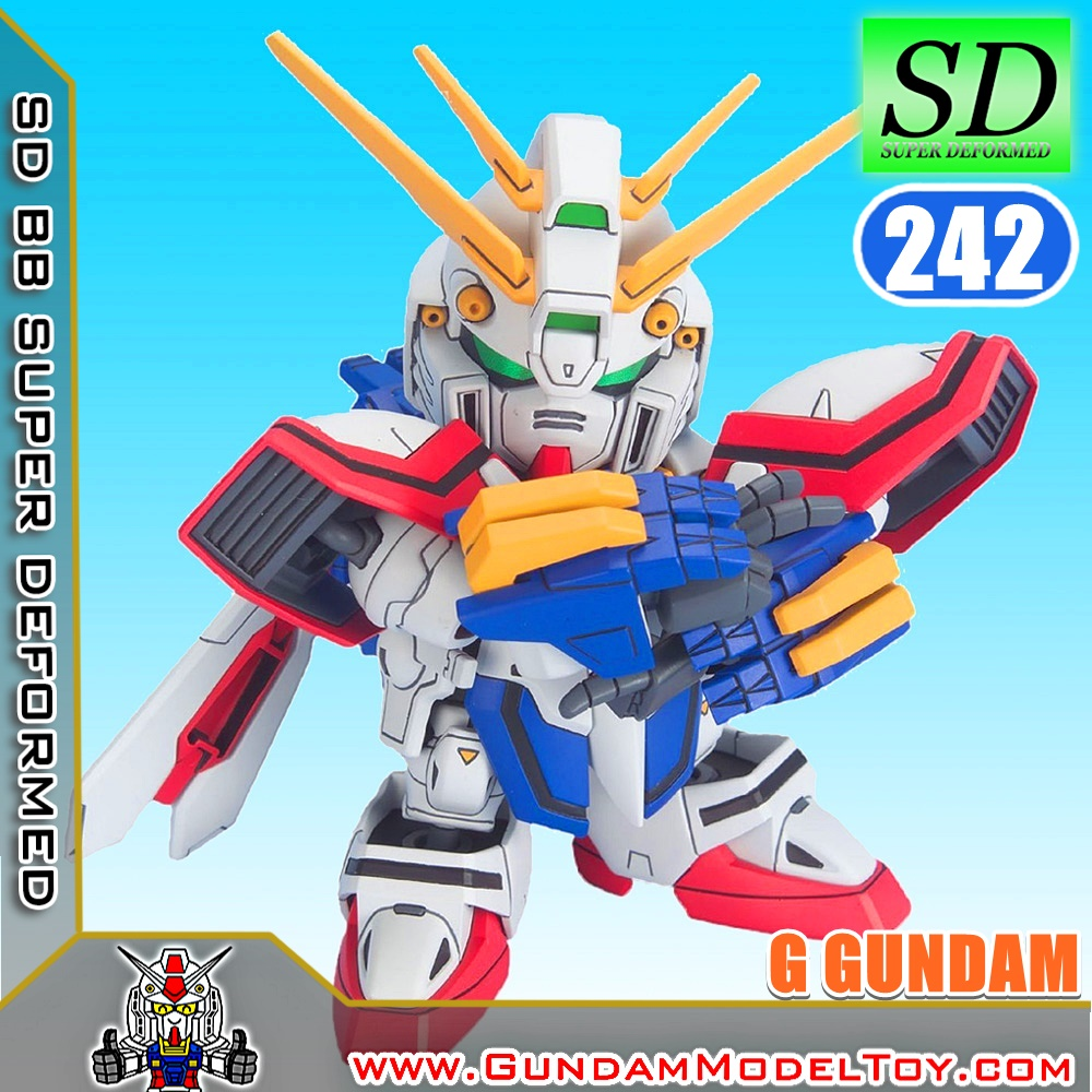 SD BB242 G GUNDAM ก็อด กันดั้ม