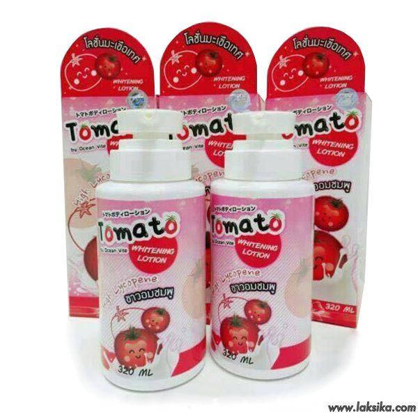 Tomato Whitening Lotion By Ocean Vite โลชั่นมะเขือเทศ 500ml.