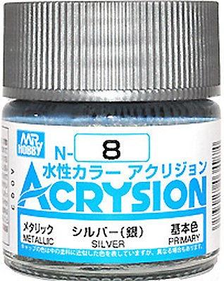 ACRYSION N8 METALLIC SILVER สีเงิน
