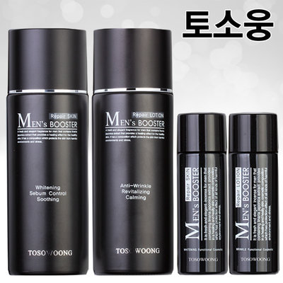 Tosowoong Men's Booster/ Sebum Control Technology ลดริ้วรอย ผิวขาวกระจ่างใส