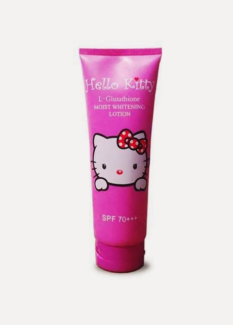 HELLO KITTY L-Glutathione Moist Whitening Lotion SPF70++ กลิ่น Coco