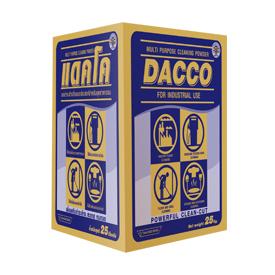 Dacco ผงชำระล้างอเนกประสงค์บรรจุถุง 1 กก. จำนวน 22 ถุง /ลัง