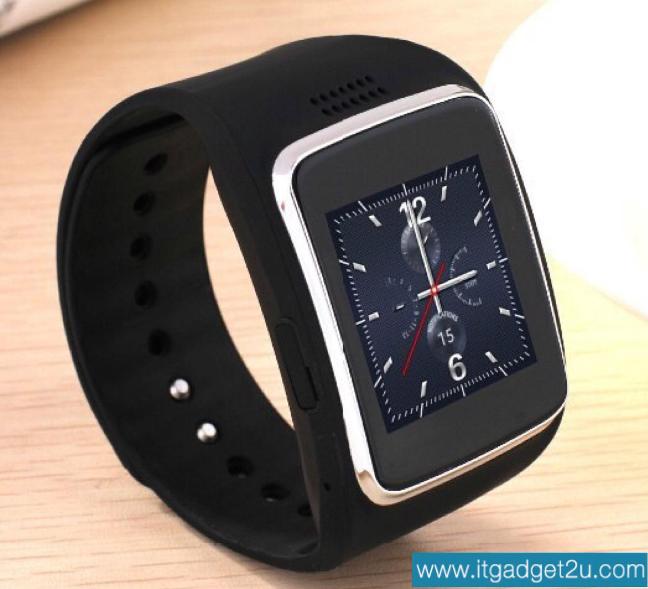 นาฬิกาโทรศัพท์ Smartwatch รุ่น Ai Watch Phone สีดำ ลดเหลือ 1,950 บาท ปกติราคา 3,450