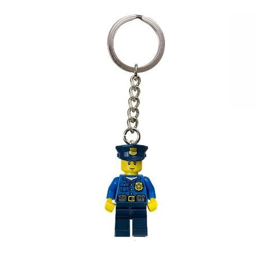 LEGO City 850933 Policeman in Blue Outfit Minifigure Keychain
