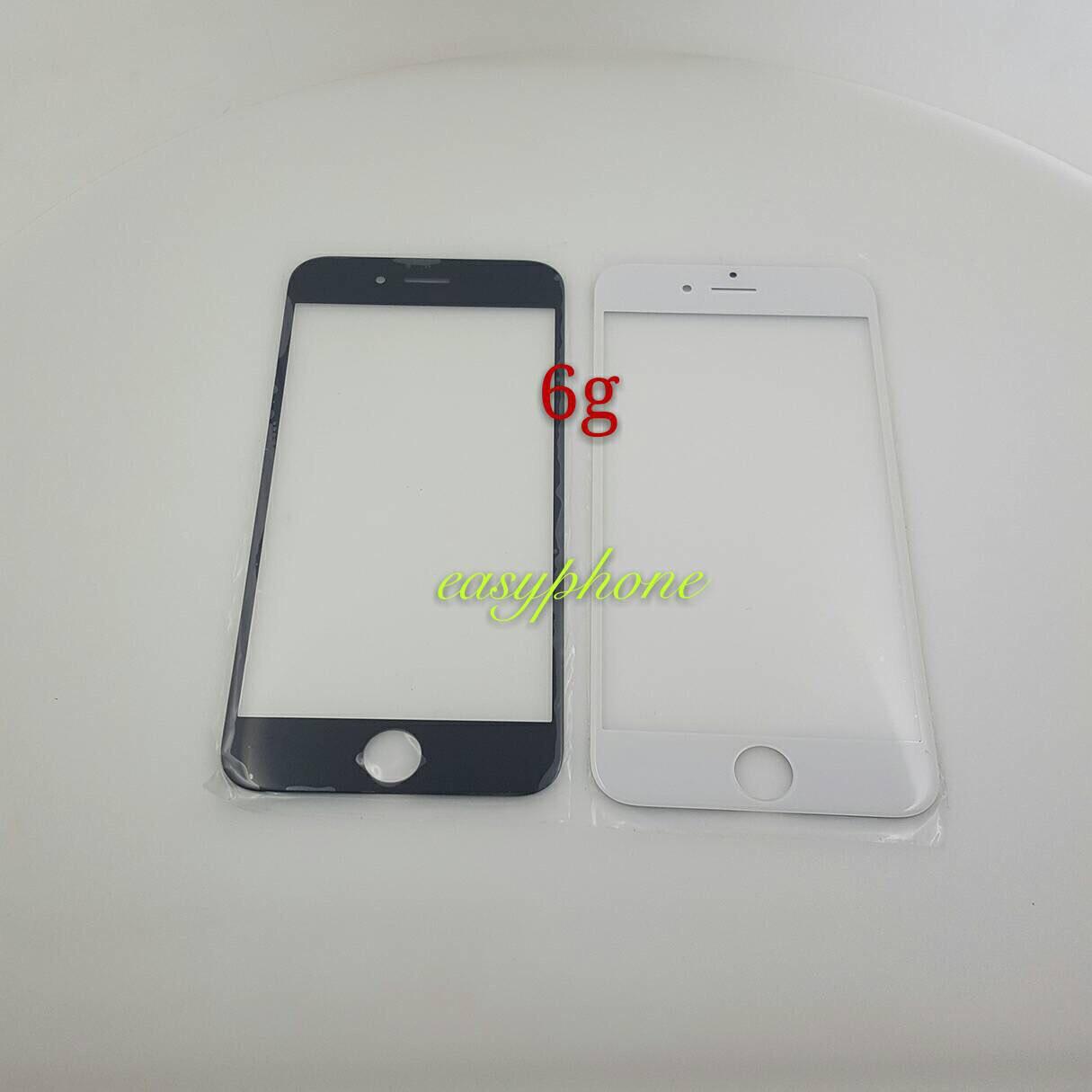 แผ่นกระจกหน้าจอ I Phone 6G สีขาว//สีดำ