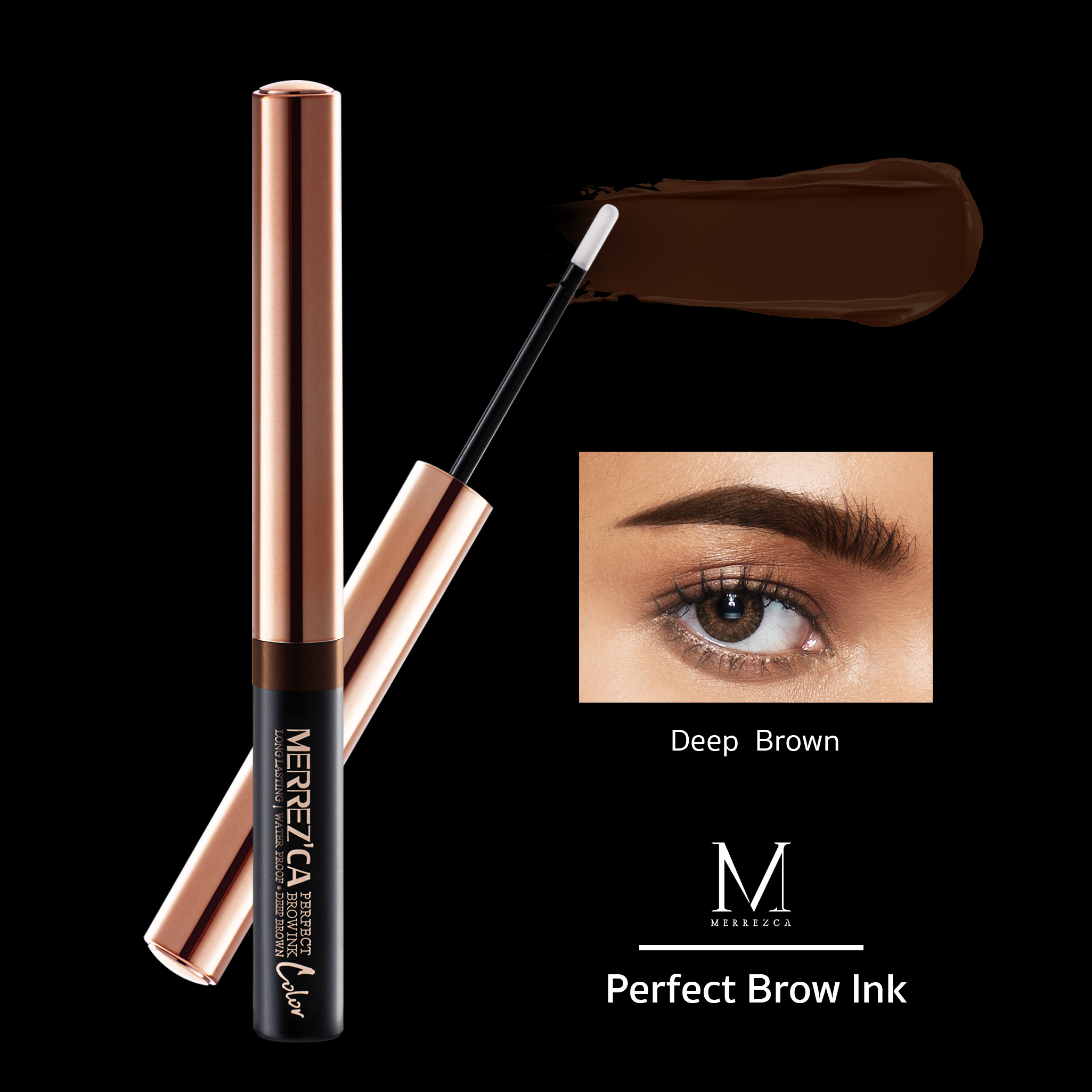 Merrez'ca Perfect Brow Ink #Deep Brown