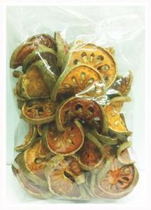 มะตูมแห้ง (200กรัม) สมุนไพรแก้ร้อนใน แก้ท้องผูกเรื้อรัง
