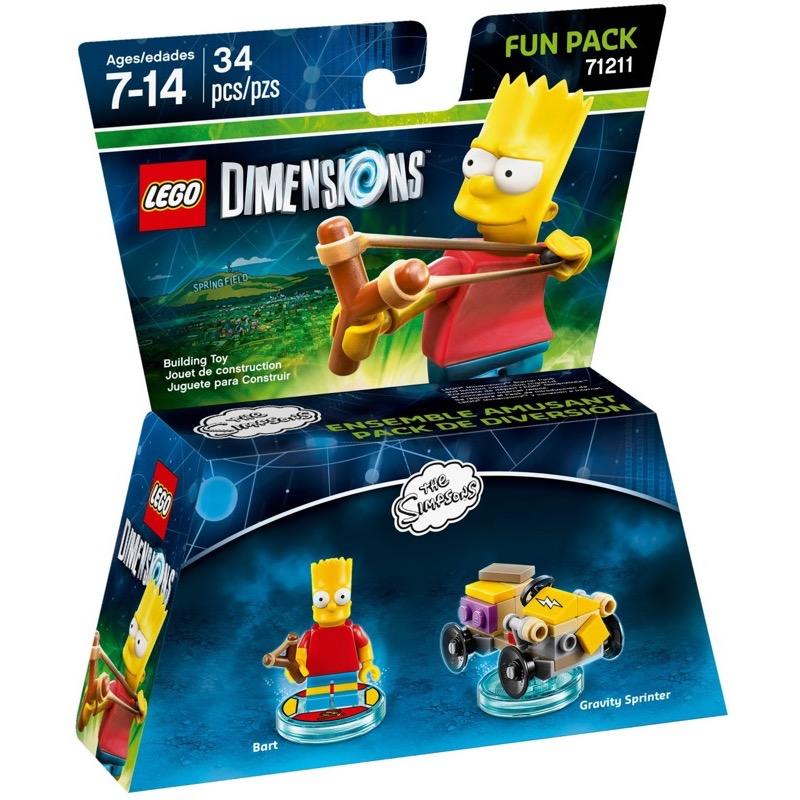 LEGO Dimensions 71211 Simpsons Bart Fun Pack