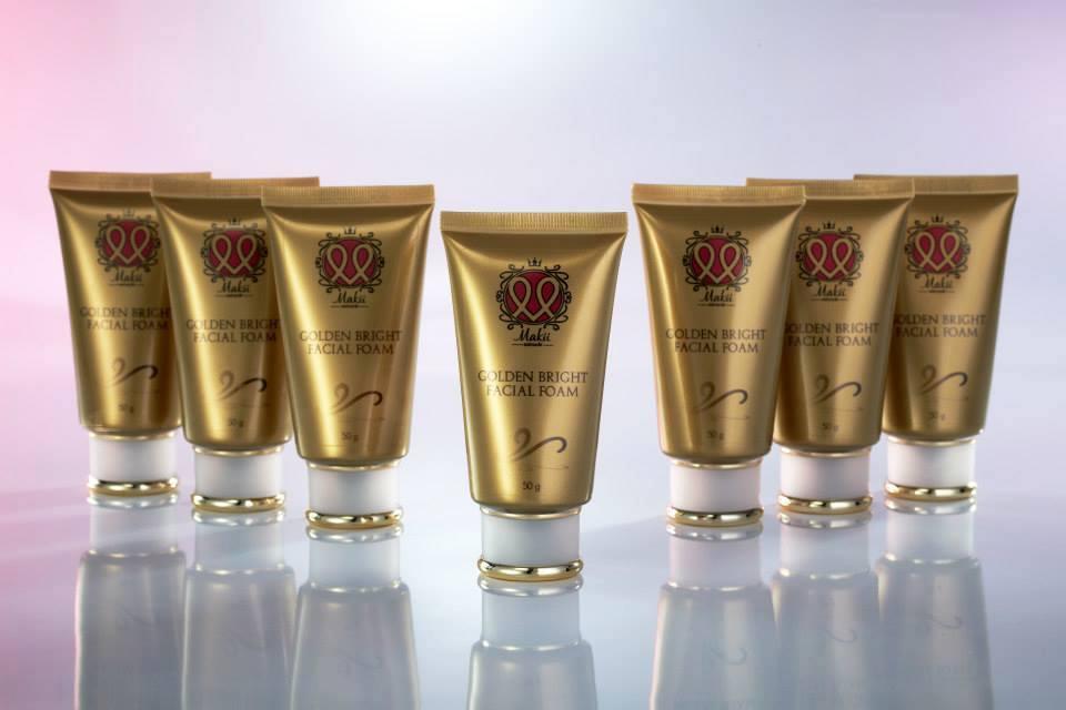 โฟมล้างหน้าทองคำ Golden Bright Facial Foam ขนาด 50 กรัม