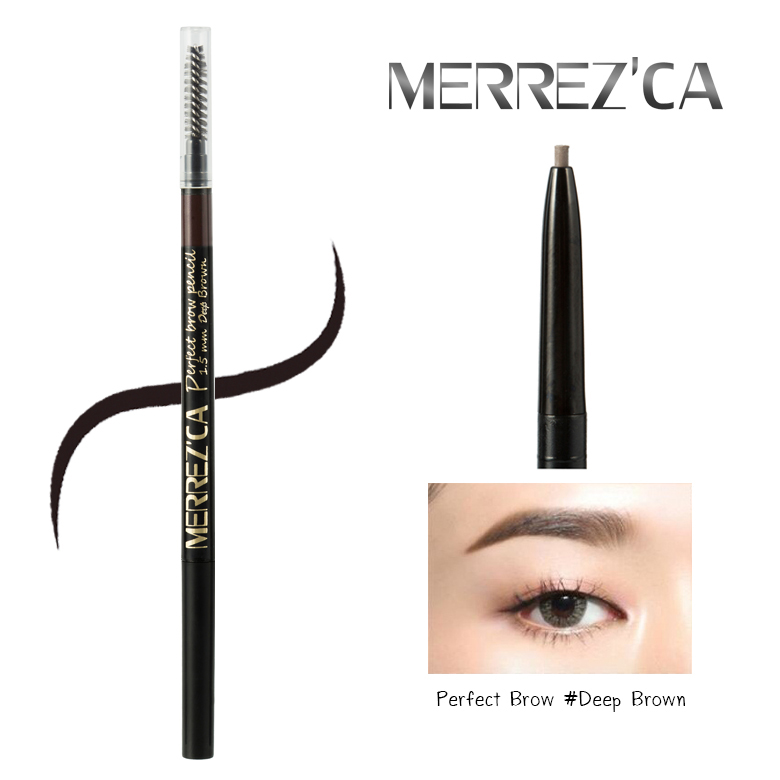 Merrez'ca Perfect brow Pencil #Deep Brow