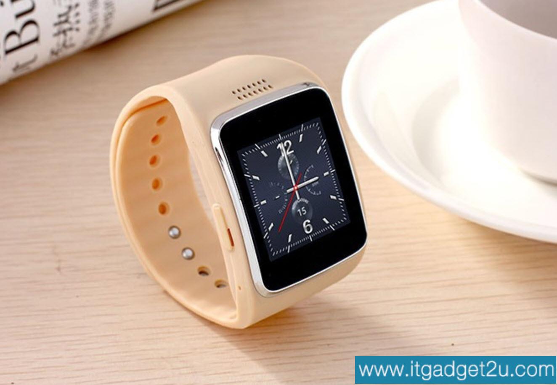 นาฬิกาโทรศัพท์ Smartwatch รุ่น Ai Watch Phone สีครีม ลดเหลือ 1,950 บาท ปกติราคา 3,450