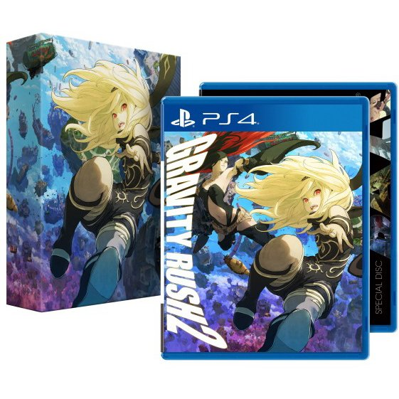 PS4 Gravity Rush 2 [Limited Edition] : Z3-Eng