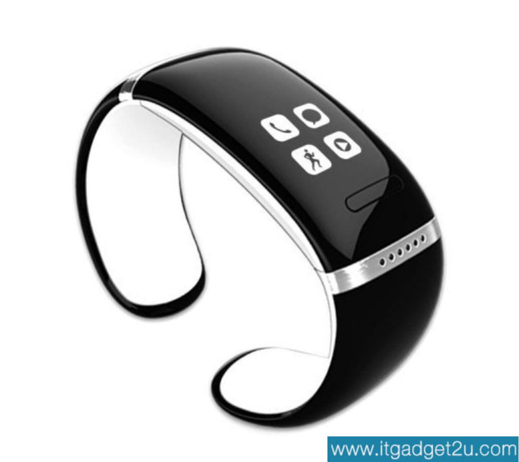 นาฬิกาโทรศัพท์ Bluetooth Smart Watch รุ่น L12S Bracelet Wrist สีขาว ปกติราคา 2,450 ลดเหลือ 1,490 บาท