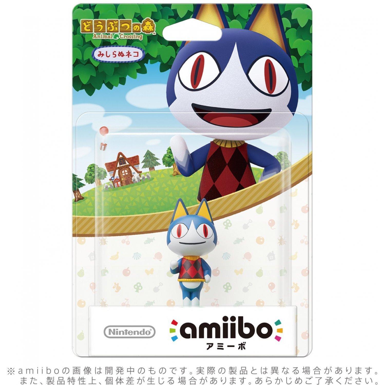 AMIIBO ANIMAL CROSSING SERIES FIGURE (MISHIRANU NEKO)