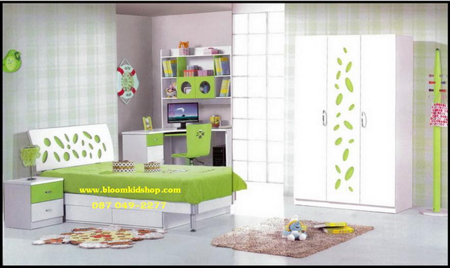 ชุดห้องนอนเด็ก Green Leaf น่ารัก