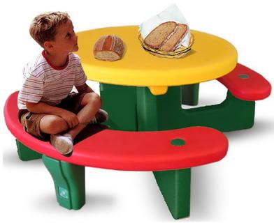 โต๊ะพลาสติกเด็กแสนหวาน ขนาด 107*125*52 ซม.