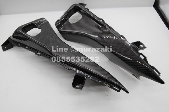 บังโคลนหน้าท่อนหลัง เครฟล่า Yamaha Aerox ราคา1800