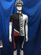 กางเกงปั่นจักรยาน ขาสั้น ลาย SPECIALIZED สีดำแดง เป้าเจล 3D