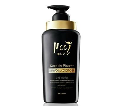 Mooi Keratin Plus++ Shampoo & Conditioner แชมพู โมอิ [VIP 520 บาท]