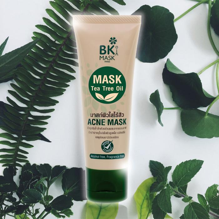 ครีมมาร์คหน้า [BK] Acne Mask มาส์กหน้าใสไร้สิว ลดรอยด่างดำ