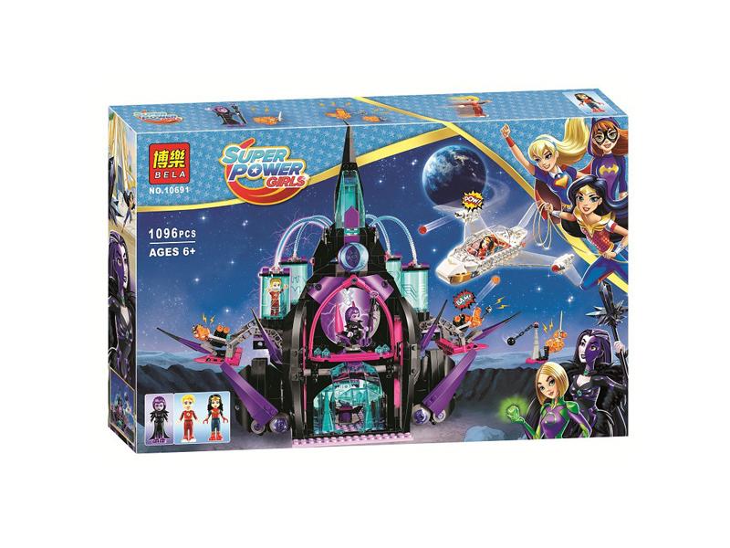 10691 Super Hero Girls ปราสาทแห่งความมืดมนของเอคลิพโซ Eclipso Dark Palace