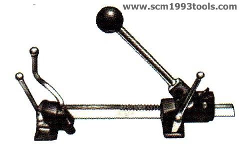 KDS เคดีเอส มัดพลาสติก รุ่นงานหนัก เหล็กเหนียว ขนาด 5/8 นิ้ว Strapping Tools