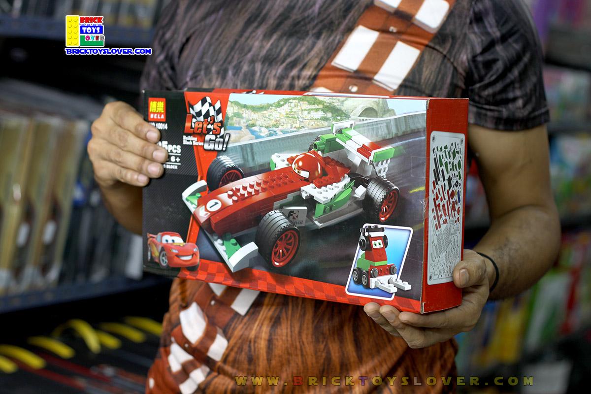 10014 ตัวต่อโมเดล Francesco - ฟราสเชสโก้นักแข่ง F1 คันใหญ่