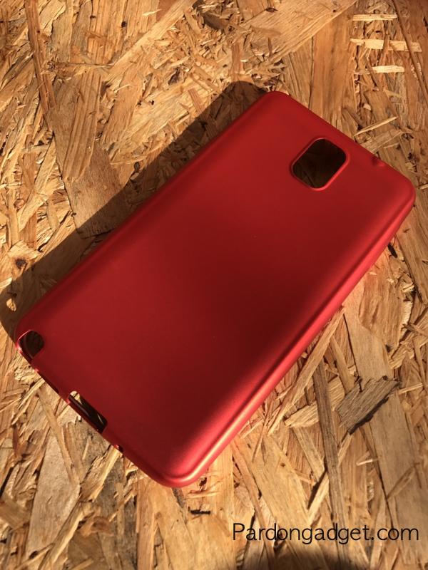 เคสแดงนิ่มหรู Note 3 แบบ TPU