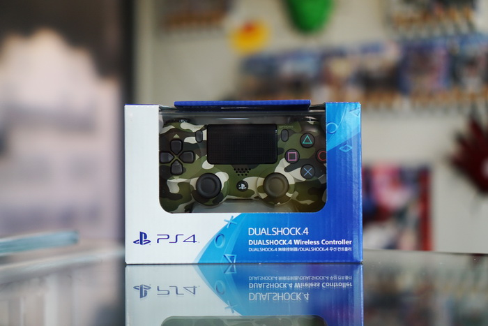PS4 : Dual Shock 4 New (Green Camouflage)