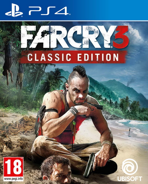 PS4- FarCry 3 Classic Edition