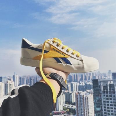 รองเท้าผ้าใบเกาหลี EXO แต่งดิ้นประดับ มี2สี