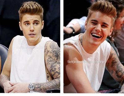 เสื้อยืดแขนกุด Justin Bieber แนวฮิปฮอป มี2สี