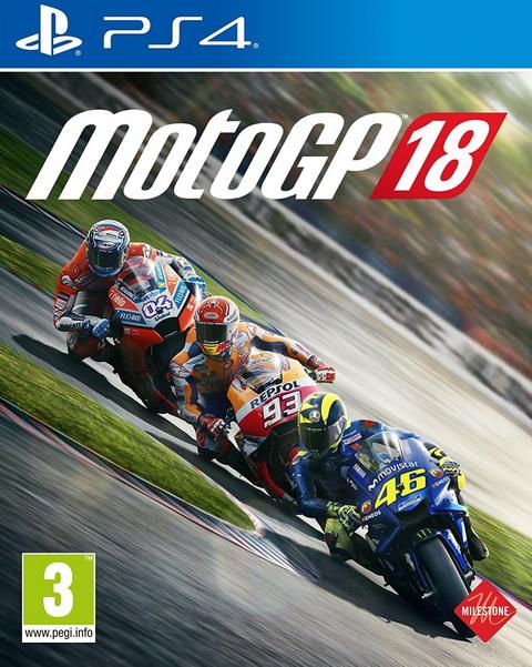 PS4- MotoGP 18