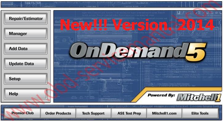Mitchell Ondemand 5 V.2014 โปรแกรมรวม คู่มือซ่อม และวงจรไฟฟ้า (service repair manual & wiring diagram) รถยนต์หลากหลายยี่ห้อ