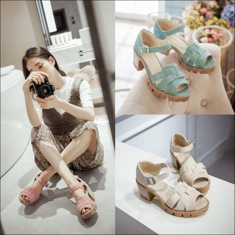 Preorder รองเท้าแฟชั่น สไตล์ เกาหลี 33-43 รหัส 9DA-4127