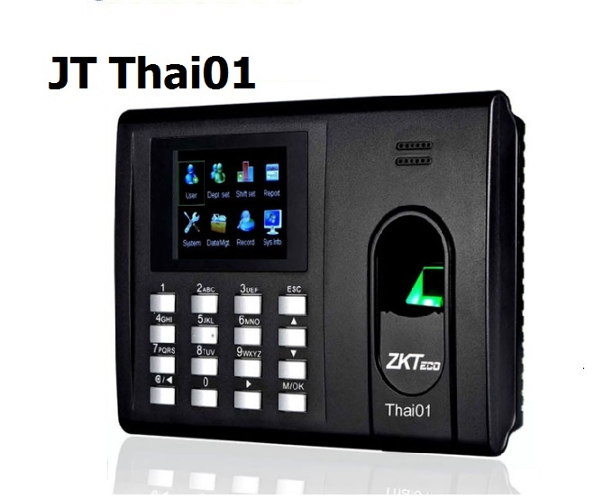 เครื่องสแกนลายนิ้วมือ JT Thai01