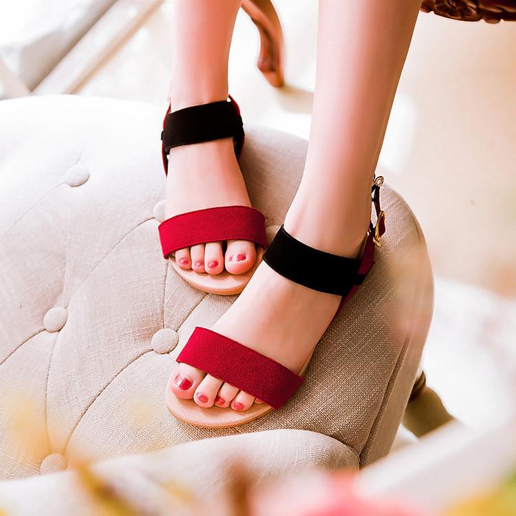 Preorder รองเท้าแฟชั่น สไตล์เกาหลี 34-43 รหัส 9DA-2258